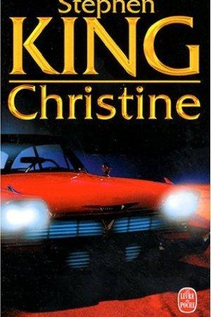 Reading books Christine
