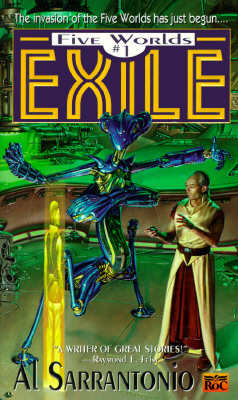 Exile (Five Worlds Saga, #1)