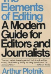 The Elements of Editing Pdf Book