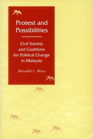 Protest and Possibilities: Civil Society and Coalitions for Political Change in Malaysia pdf books