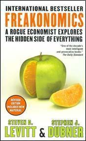 Freakonomics: A Rogue Economist Explores the Hidden Side of Everything
