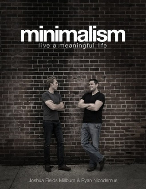 2 men against brick wall - Minimalism: Live a Meaningful Life