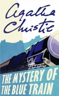The Mystery of the Blue Train Book Cover