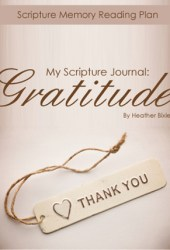 My Scripture Journal: Gratitude Pdf Book