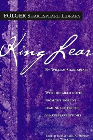 Reading books King Lear