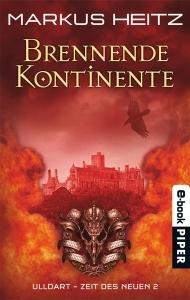 Brennende Kontinente (Ulldart - Die Zeit des Neuen, #2)