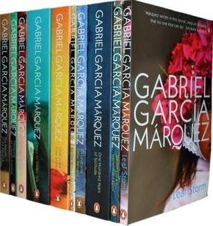 Gabriel Garcia Marquez Collection: Love in the Time of Cholera, One Hundred Years of Solitude, Chronicle of a Death Foretold, Of Love and Other Demons, The Story of a Shipwrecked Sailor...