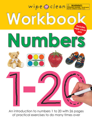 Numbers 1-20 [With Wipe Clean Pen] (Wipe Clean Workbooks)