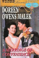 A Marriage of Convenience  (Western Lovers: Hitched in Haste, #7) Pdf Book