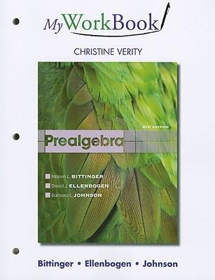 MyWorkBook for Prealgebra
