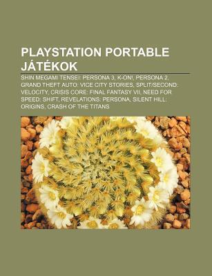 PlayStation Portable Jatekok: Shin Megami Tensei: Persona 3, K-On!, Persona 2, Grand Theft Auto: Vice City Stories, Splitsecond: Velocity