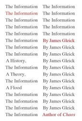 The Information: A History, a Theory, a Flood Pdf Book