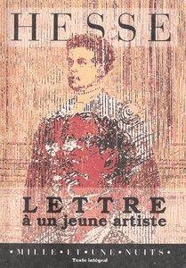 Lettre À Un Jeune Artiste