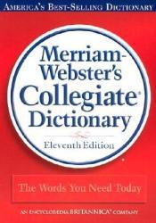 Merriam-Webster's Collegiate Dictionary Pdf Book