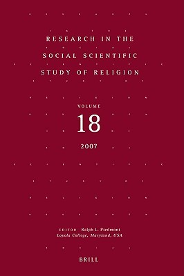 Research In The Social Scientific Study Of Religion