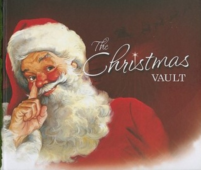 The Christmas Vault With Stickers And Reproduced Victorian Christmas Cards And Ornaments And Magnets By Wendy Malloy