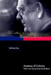 Anatomy of Criticism Pdf Book