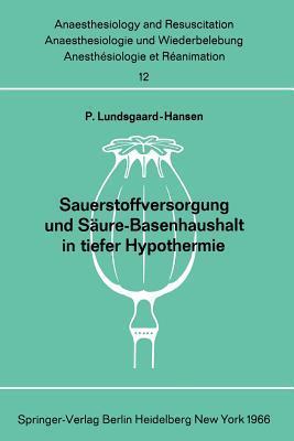 Sauerstoffversorgung Und Saure-Basenhaushalt in Tiefer Hypothermie