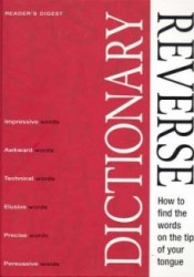 Reverse Dictionary (Readers Digest) Pdf Book