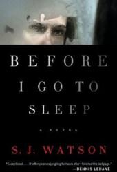 Before I Go to Sleep Pdf Book
