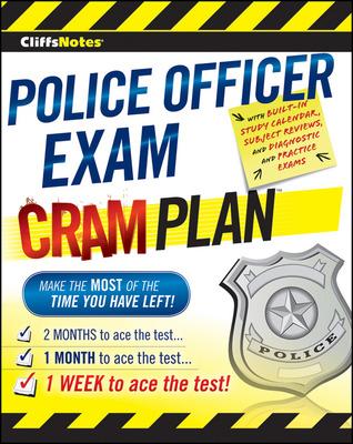 CliffsNotes Police Officer Exam Cram Plan