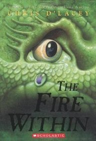 Cover - The Fire Within by Chris D'Lacey