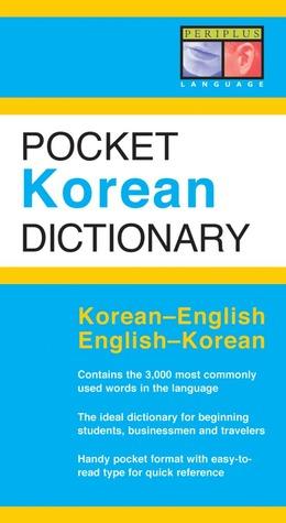 Pocket Korean Dictionary: Korean-English English-Korean