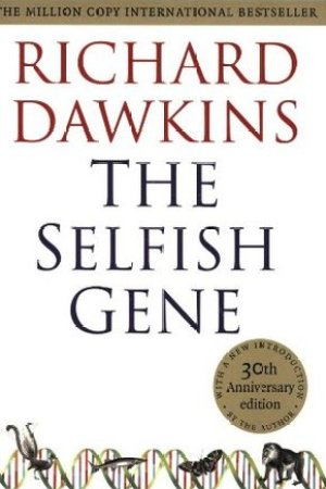 Reading books The Selfish Gene