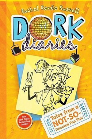 Tales from a Not-So-Talented Pop Star (Dork Diaries, #3)