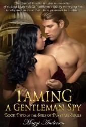 Taming a Gentleman Spy (The Spies of Mayfair, #2) Book Pdf