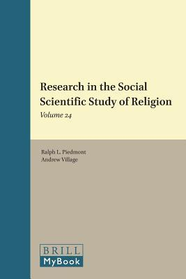 Research in the Social Scientific Study of Religion, Volume 24