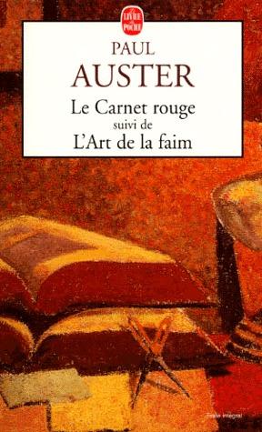 Le Carnet rouge / L'Art de la faim