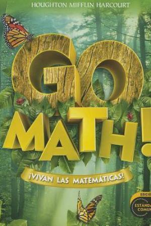 Houghton Mifflin Harcourt Spanish Go Math: Student Edition Grade 1 2012