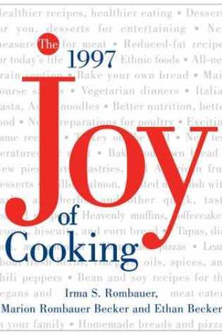 The Joy of Cooking Book Pdf ePub