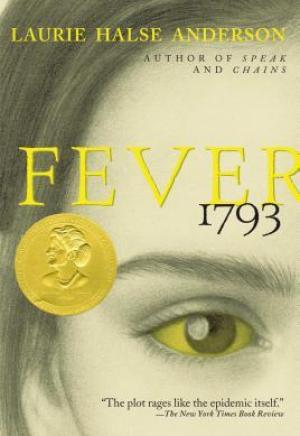 #Printcess review of Fever 1793 by Laurie Halse Anderson