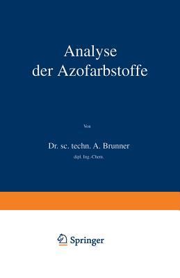 Analyse Der Azofarbstoffe