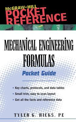 Mechanical Engineering Formulas: Pocket Guide