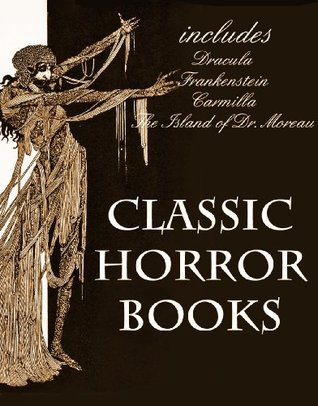 HORROR BOOKS (illustrated) (4 Great Gothic Horror Novels)