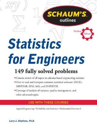 Schaum's Outline of Statistics for Engineers (Schaum's Outline Series)