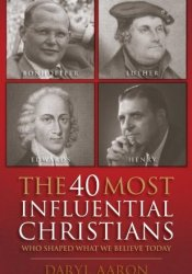 The 40 Most Influential Christians . . . Who Shaped What We Believe Today Pdf Book