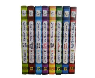 Diary of a Wimpy Kid: Book Set #1-8