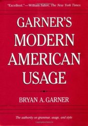 Garner's Modern American Usage Pdf Book