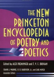 The New Princeton Encyclopedia of Poetry and Poetics Pdf Book