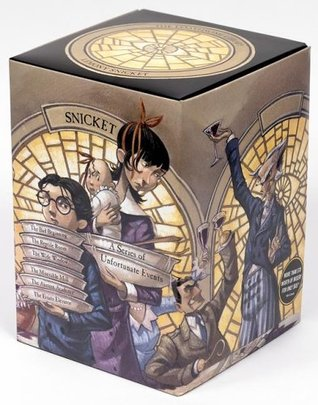 The Loathsome Library: A Box of Unfortunate Events, Books 1-6
