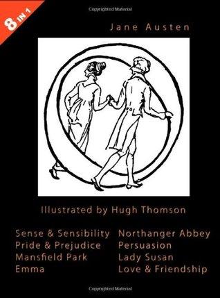 Illustrated Jane Austen - 8 Books in 1