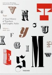 Type: A Visual History of Typefaces and Graphic Styles (Volume 1, 1628-1900) Pdf Book