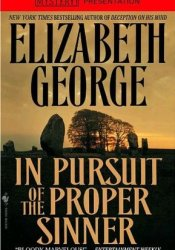 In Pursuit of the Proper Sinner (Inspector Lynley, #10) Pdf Book