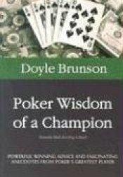 Poker Wisdom of a Champion Pdf Book