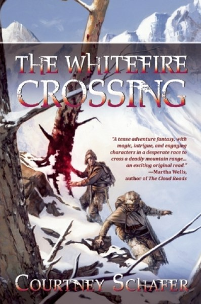The Whitefire Crossing (Shattered Sigil, #1)-Courtney Schafer