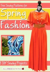 Free Sewing Patterns for Spring Fashion: 8 DIY Sewing Projects Pdf Book